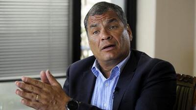"""Expresidente Rafael Correa: Lenín Moreno """"ha pactado con lo peor de la política ecuatoriana"""""""