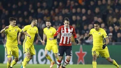 El Rostov de Noboa saca de Europa al PSV de Héctor Moreno y Santiago Arias.