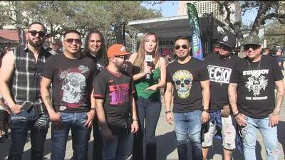 Grupo Siggno presente en el Univision Fan Fair en La Villita