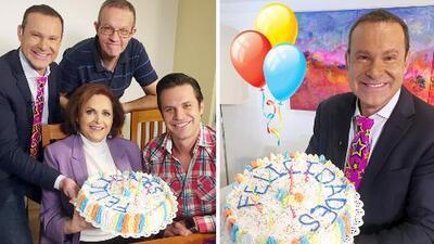 Alan Tacher organizó su propia fiesta de cumpleaños y celebró sus 46 primaveras