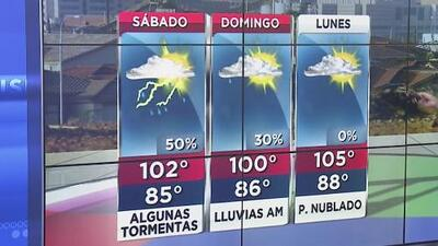 Se esperan lluvias para este sábado en Phoenix