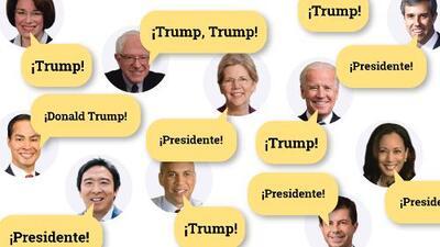 Interactivo: Quién atacó más a Trump en el debate y qué giro dio el discurso de los favoritos en la campaña