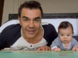 Adrián Uribe y su hija Emily desbordan ternura al hacer ejercicio juntos