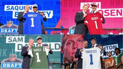 Una a una: todas las selecciones de la primera ronda del Draft 2018 de la NFL