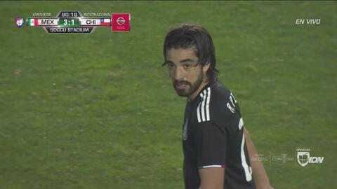Rodolfo Pizarro, el jugador más destacado de la victoria de México 3-1 ante Chile