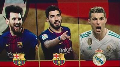 Cristiano Ronaldo les descontó terreno a Messi y Suárez  en la tabla de goleadores en España