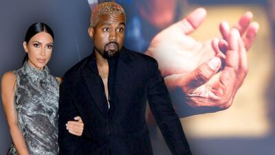 Un aguacero dejó atrapados a Kim Kardashian y Kanye West en su iglesia donde luego llovieron lágrimas