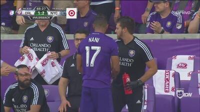 Este es el momento del debut oficial de Nani en la MLS