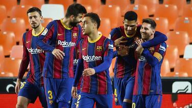 ¡Asado en casa de Messi! Barça se une de cara al Atleti