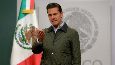 """Presidente Enrique Peña Nieto: """"México está unido y de pie"""""""""""
