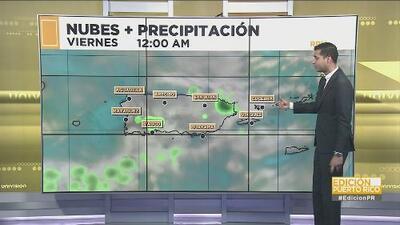 ¡No guarde su paraguas! Se esperan lluvias para este fin de semana en el centro y suroeste de Puerto Rico