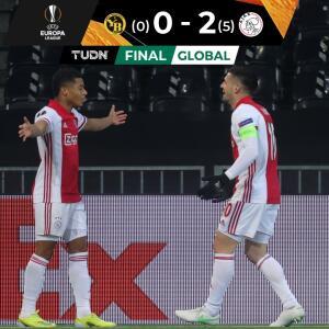 Ajax y Edson confirman el pase y derrotan al Young Boys a domicilio