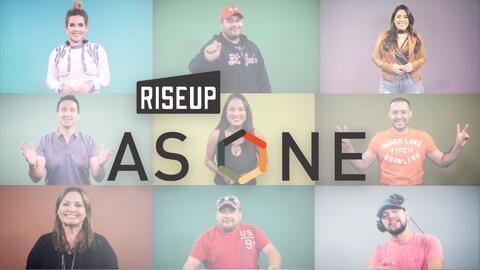 En RiseUp as One nos une la música: somos una voz