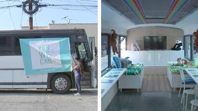 'Yes We Can': el bus que lleva educación y esperanza a los niños de la frontera