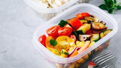 Ensalada de tomate y zucchini | Reto 28