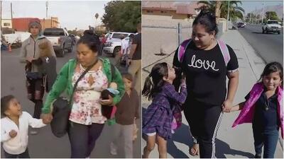 """""""Ha valido la pena"""": así es la vida en EEUU de una hondureña que con sus hijas hizo parte de la caravana de migrantes"""