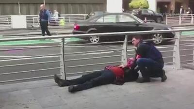 Estremecedoras imágenes del atentado terrorista en Bélgica