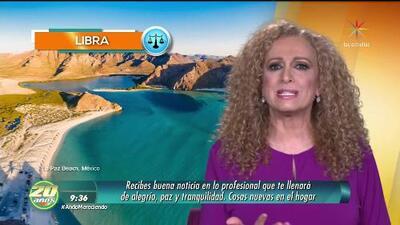 Mizada Libra 24 de enero de 2018