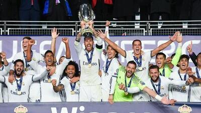 La Supercopa de Europa confrontará al Real Madrid con Jose Mourinho