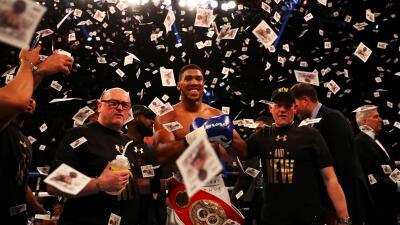 Anthony Joshua nuevo campeón completo FIB