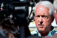 California's Republican Gubernatorial candidate John Cox speaks with the media after touring Skid Row on October 16, 2018 in Los Angeles, California. - Cox is running against Democrat Gavin Newsom for the Governor of California in the November elections. (Photo by Frederic J. BROWN / AFP) (Photo credit should read FREDERIC J. BROWN/AFP via Getty Images)