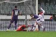 Fiorentina empató 1-1 con el colero Crotone