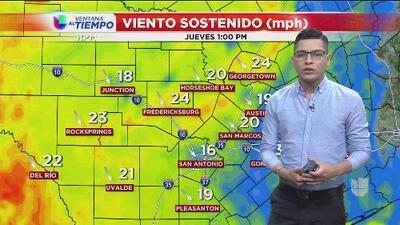 ¿Qué clima le espera a San Antonio para los próximos días?