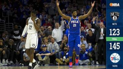 Los 76ers ponen orden y empatan la serie ante los Nets