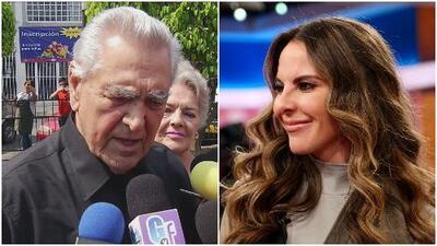 Eric del Castillo volvió a hablar de la situación económica y sentimental de su hija, Kate