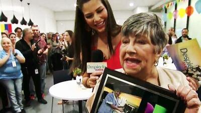 Con un nudo en la garganta, Martica inauguró su rincón del café en el último día en Univision