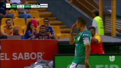 ¡GOOOL! Luis Montes anota para León