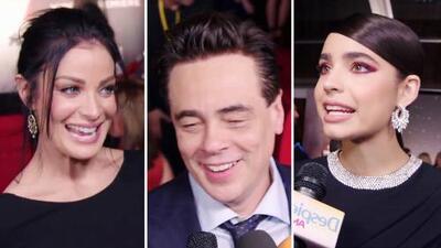 Una lluvia de estrellas latinas engalanó la alfombra roja de la premiere de 'Star Wars: The Last Jedi'