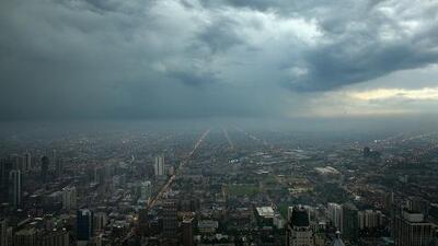 Más de 190 vuelos se han cancelado en Chicago por la intensa tormenta eléctrica que afecta a la zona