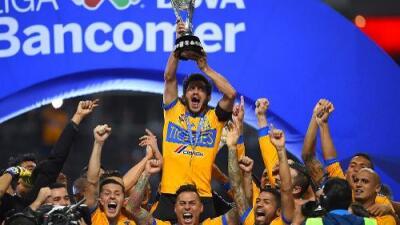 Tigres, el Campeón del Apertura 2017, alcanzó su sexto título en la Liga MX