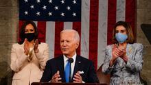 """""""Abre una ventana de esperanza"""", las reacciones en Nueva York tras el primer discurso de Biden ante el Congreso"""