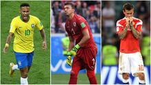 Neymar, Muslera y Smolov, entre los protagonistas de 'Los Siete Pecados Capitales' del Mundial