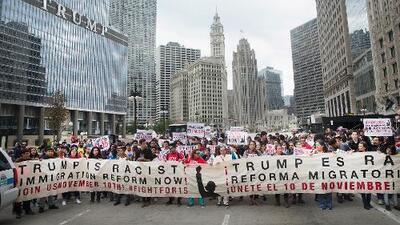 Más manifestaciones por redadas en Chicago