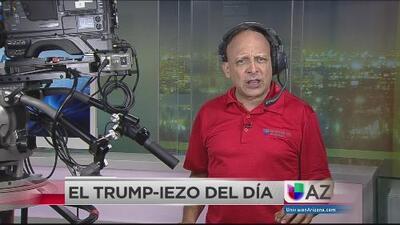 El Trump-iezo del día: el presidente anda desatado
