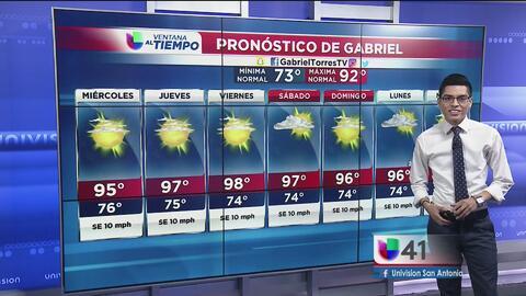 Temperaturas elevadas para la ciudad del Álamo