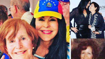 Muere la mamá de María Conchita Alonso