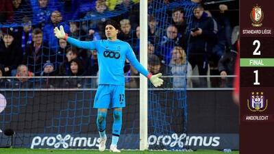 Standard Lieja del mexicano Guillermo Ochoa venció al Anderlecht del hondureño Andy Nájar