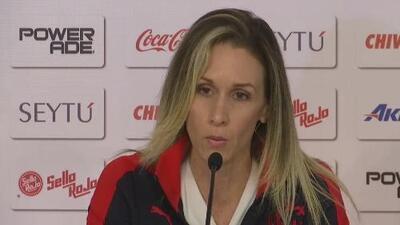 Nelly Simón, presentada  como nueva Gerente Deportiva de Chivas Femenil