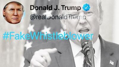 Trump se defiende con datos falsos al hablar del 'impeachment' y los verificadores no lo perdonan