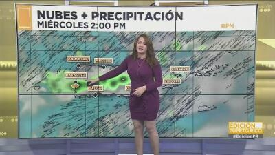 Siguen las tardes lluviosas en el centro y noroeste de Puerto Rico