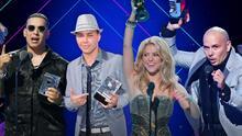 Top 10: estos son los artistas con más galardones en la historia de Premios Juventud