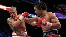 Las peleas que hicieron a Manny el 'Pacman'