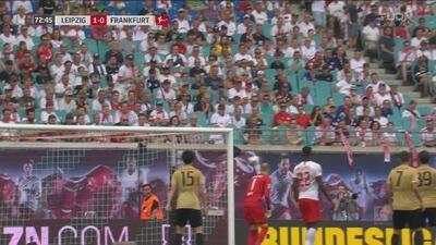 Erik Durm estuvo muy cerca del empate