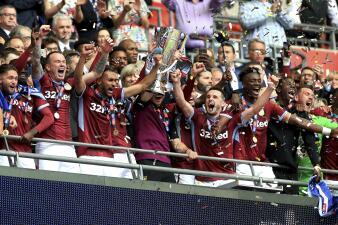 Aston Villa vuelve a Premier League tras tres años al ganar los Playoffs de Championship
