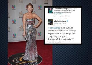 Alicia Machado insultó a Gloria Trevi