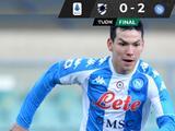Napoli gana e Hirving Lozano se perderá el juego ante Inter de Milán